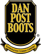 "Dan Post Mens ""Lucky Break"" Western Boots Chocolate Sanded Leather Foot with Avitar Inlay DP2249"
