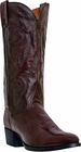 "Dan Post Mens ""Milwaukee"" Western Boots Black Cherry Leather DP2112R"