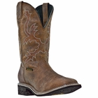 "Dan Post Mens ""Nogales-WATERPROOF"" Work Boots Tan Distressed Waterproof Leather DP69791"