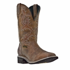 "Dan Post Mens ""Nogales ST"" Work Boots Tan Distressed Waterproof Leather DP69781"