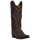 "Dan Post Mens ""Tyree"" Western Boots Chocolate Rustic Saddle Brand Leather DP26680"