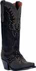 "Dan Post Women's ""Invy"" Black Studded Fashion Boots DP3582"