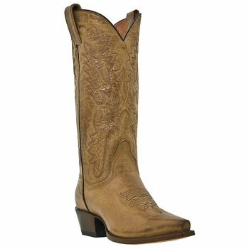 "Dan Post Women's ""Santa Rosa"" Tan Fashion Boots DP3463"