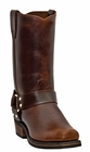Dingo Men's Mahogany Harness Leather Boots DI19056
