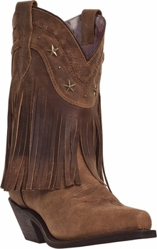 "Dingo Women's ""Hang Low"" Distressed Crazy Horse Lather Boots DI7441"