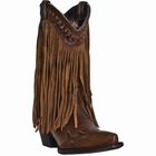 "Dingo Women's ""Heart Throb"" Russet Leather Boots DI7445"