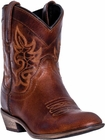 "Dingo Women's ""Willie"" Brown Leather Boots DI-865"