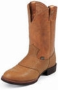 Justin George Strait Western Boots Collection for Men - 2 Styles