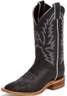Justin Ladies Bent Rail Series Black Burnished Calf Cowgirl Boots BRL316