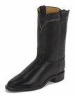 Justin Mens Roper Boots Collection Black Chester Roper Boots 3233