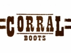 Ladies Corral A1099 Brown Crater Turquoise Inlay & Studs Boot