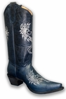 Ladies Corral Boots Leather Western Cowgirl L5005