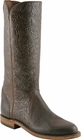 Ladies Lucchese Classics Chocolate Jurassic Goat  Custom Leather Boots L5518