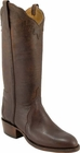 Ladies Lucchese Classics Chocolate Mad Dog Goat Custom Hand-Made Western Boots L4595