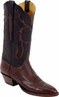Ladies Lucchese Classics Chocolate Ranch Hand Custom Hand-Made Western Boots L4542