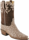 Ladies Lucchese Classics Nugget Full Quill Ostrich Custom Hand-Made Western Boots L4136