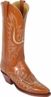 Ladies Lucchese Classics Peanut Tuscany Buffalo Custom Hand-Made Western Boots L4560