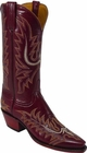 Ladies Lucchese Classics Sangria Goat Custom Hand-Made Western Boots L4569