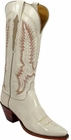 Ladies Lucchese Classics Wheat Goat Leather Custom Hand-Made Tall Boots L4580