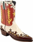 Ladies Lucchese Vintage Classics Parched Wheat Goat Custom Hand-Made Cowgirl Boots L7032