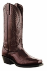 Laredo Mens Black  Cherry with Eagle Leather Boots 6842