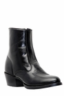 Laredo Mens Side Zip Black Leather Boots 62001