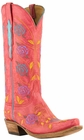 Lucchese Classic with Cindy Stitch Pattern Destroyed Red Tristan Goat L4714