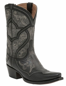 *NEW* Lucchese Since 1883 Womens Audine Boot – Black M4915