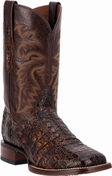 "Men's Dan Post ""Everglades SQ"" Sunset Mystic Flank Caiman Cowboy Certified Boot DP3853"