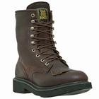 "Men's Dan Post ""Portland"" Briar Oiled Work Leather Work Boots DP69612"