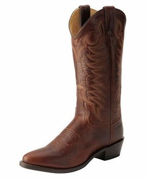 "<Font size=5 color=""red""><b>></b></Font>Mens Justin Cognac Damiana Boot #1568"