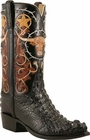Mens Lucchese Classics American Alligator Hornback Head Cut Custom Hand-Made Cowboy Boots L1407