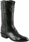 Mens Lucchese Classics Black Calf Custom Hand-Made San Antonio McKay Collection Cowboy Boots L9501
