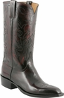 Mens Lucchese Classics Black Cherry Kangaroo Custom Hand-Made Cowboy Boots L1666