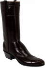 Mens Lucchese Classics Black Glove Calf Custom Hand-Made McKay Sole Cowboy Boots L1521