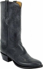 Mens Lucchese Classics Black Oil Calf Custom Hand-Made Cowboy Boots L1542