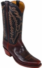 Mens Lucchese Classics Chocolate Oil Calf Custom Hand-Made Cowboy Boots L1588