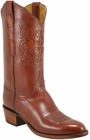 Mens Lucchese Classics Cognac Goat Custom Hand-Made Cowboy Boots L1624