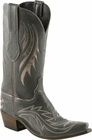Mens Lucchese Classics Graphite Jolly Goat Leather Custom Hand-Made Boots L1681