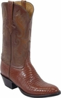 Mens Lucchese Classics Peanut Brittle Lizard Custom Hand-Made Cowboy Boots L1210