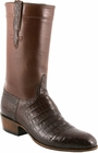 Mens Lucchese Classics Sienna Regal Ultra Belly Crocodile Custom Hand-Made San Antonio McKay Collection Cowboy Boots L9478