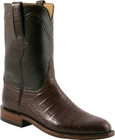 Mens Lucchese Classics Sienna Ultra Belly Crocodile Custom Hand-Made Roper Boots L3151
