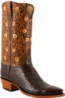 Mens Lucchese Classics Sienna Ultra Crocodile Belly Custom Hand-Made Cowboy Boots L1413
