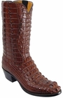 Mens Lucchese Classics Sport Rust Hornback American Alligator Custom Hand-Made Cowboy Boots L1002