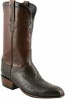 Mens Lucchese Classics Sport Rust Lizard Custom Hand-Made San Antonio McKay Collection Cowboy Boots L9403