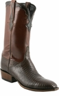 Mens Lucchese Classics Sport Rust Lizard with Kennedy Band Custom Hand-Made Leather Boots L9402