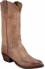 Mens Lucchese Classics Tan Mad Dog Goat Custom Hand-Made Cowboy Boots L1600