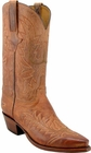Mens Lucchese Classics Tan Mad Dog Goat Custom Hand-Made Cowboy Boots L1602