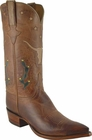 Mens Lucchese Classics Tan Mad Dog Goat Custom Hand-Made Cowboy Boots L1620