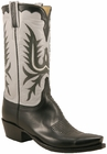 Mens Lucchese Classics Vintage Collection Black Glove Calf Custom Hand-Made Cowboy Boots L1656